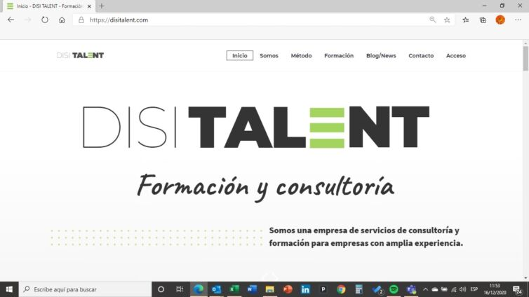 Web DISI TALENT